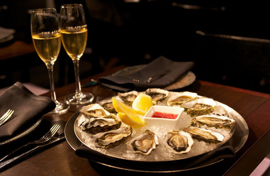Scotts Restaurant London Oyster Bar Champagne Seafood Fish Crustaceans Bar Sustainable