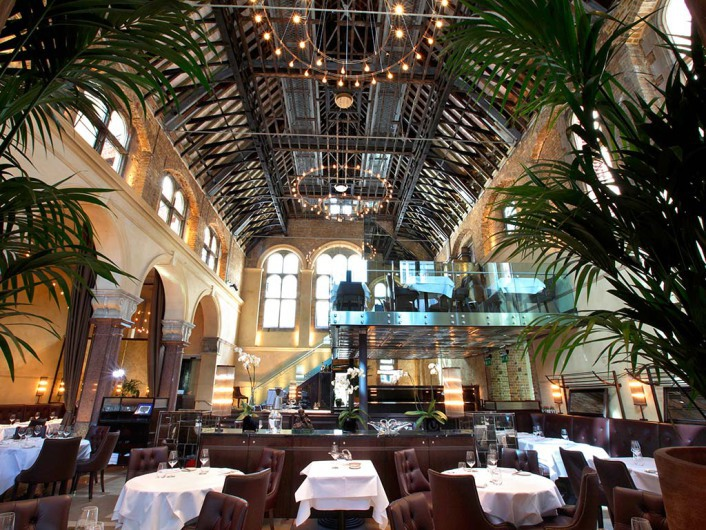 London Restaurant Galvin La Chapelle Food Dining UK