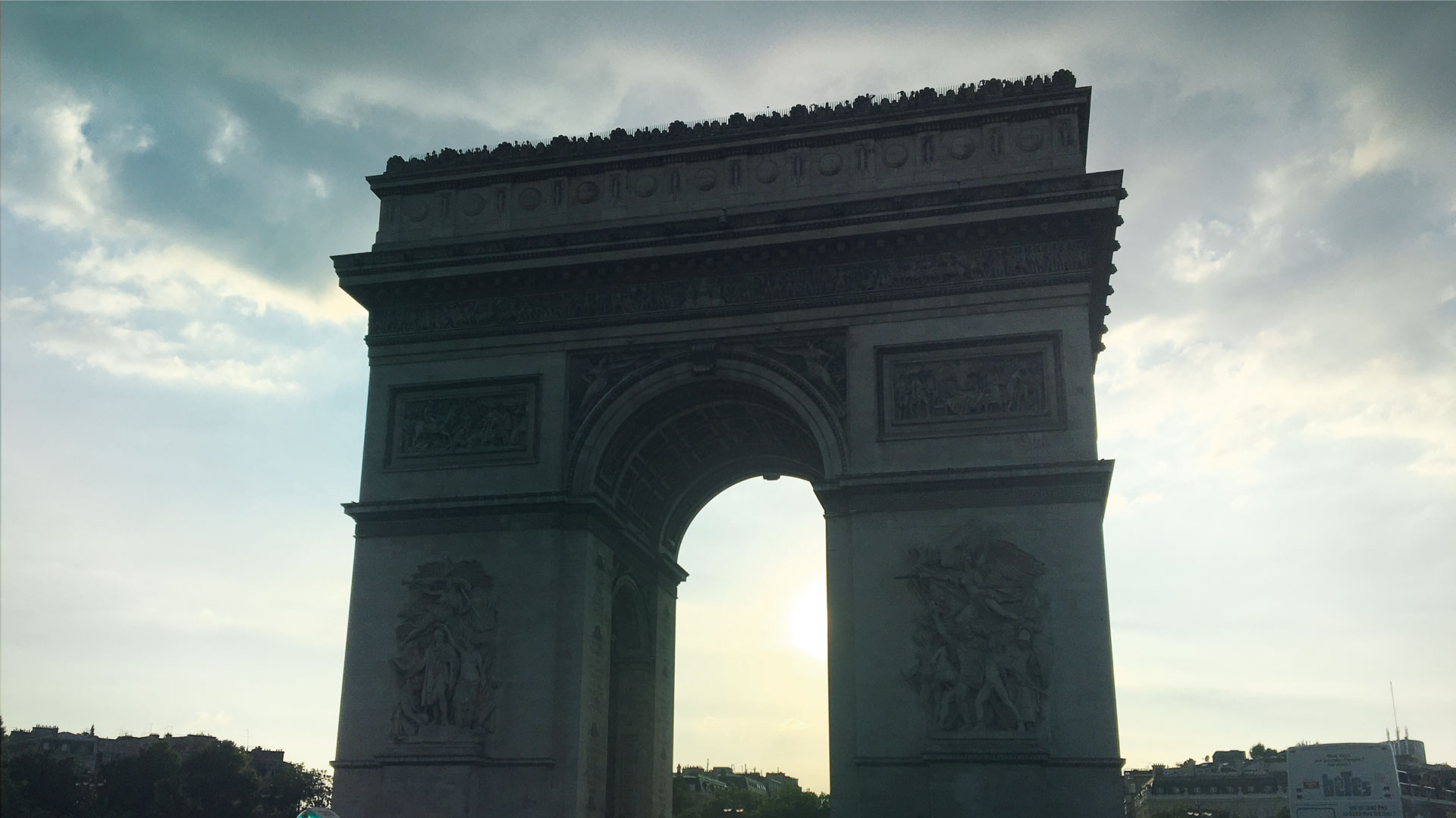Arc de Triomphe Paris France Greek Expat