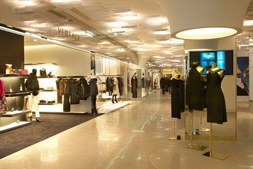 Gallerie Lafayette Pairs Vescace Dress Expat Shopping