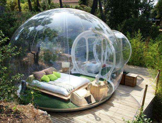 BiniBlog Unusual Hotels Sleep Bubble Attrap'Reves Hotel Allauch France