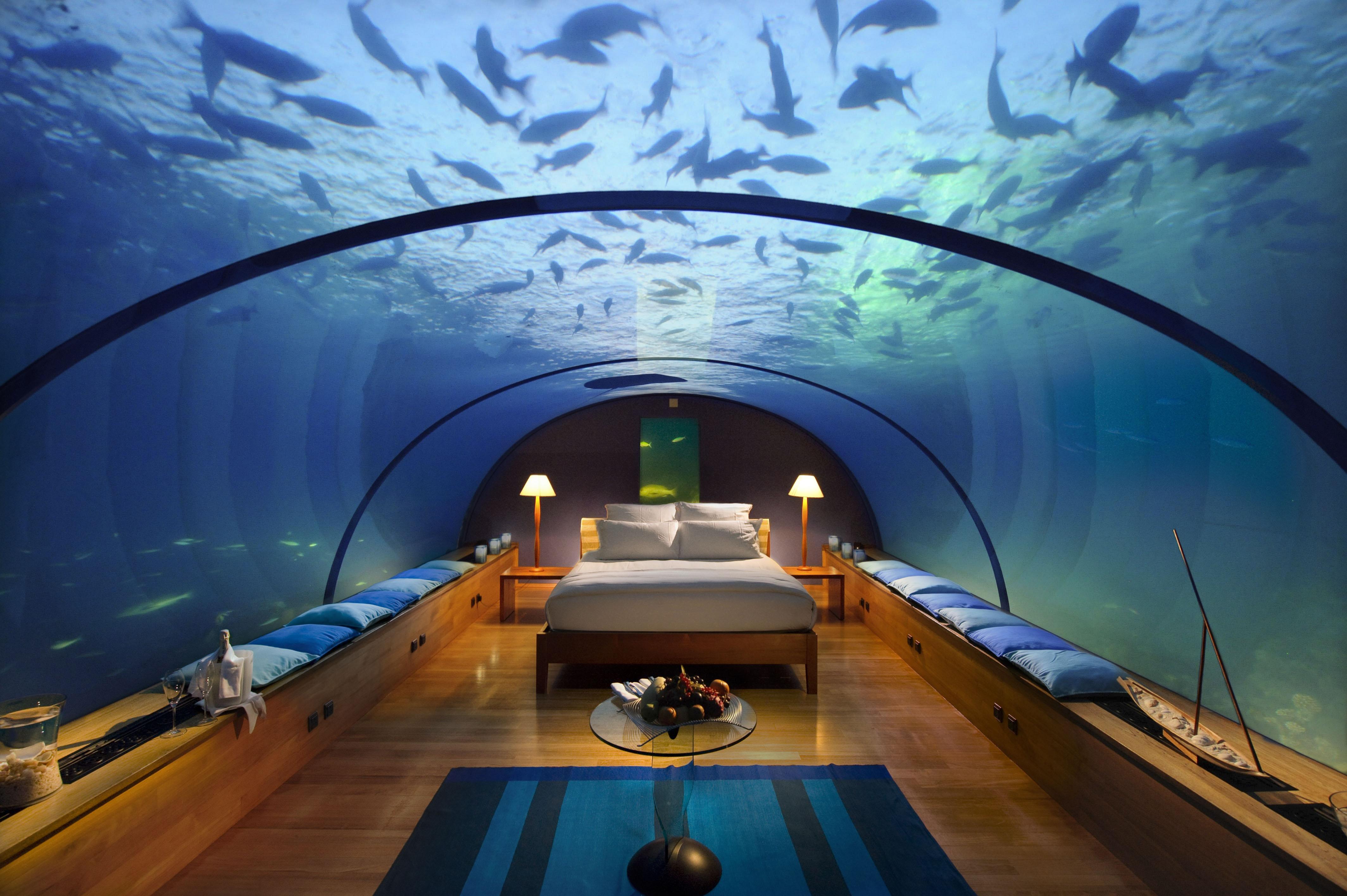 BiniBlog Weird Hotels Conrad Maldives Hotel Rangali Island Maldives