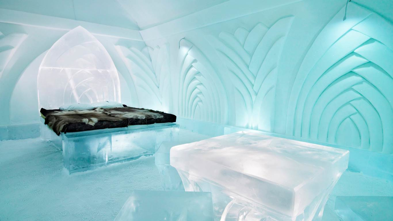 Ice Hotel in Jukkasjarvi Sweden BiniBlog Weird Hotels