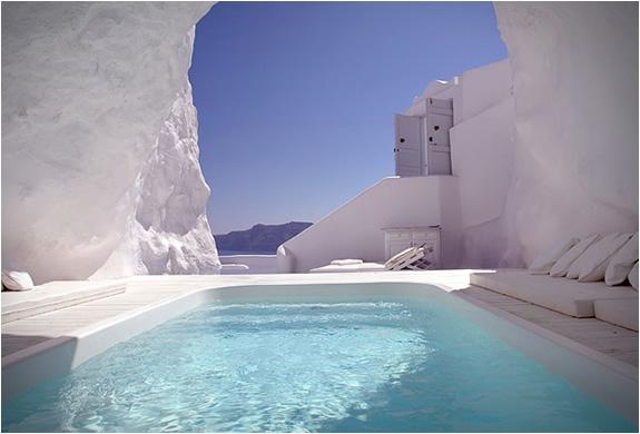 BiniBlog Hotels Weird Katikies Hotel Santorini Greece