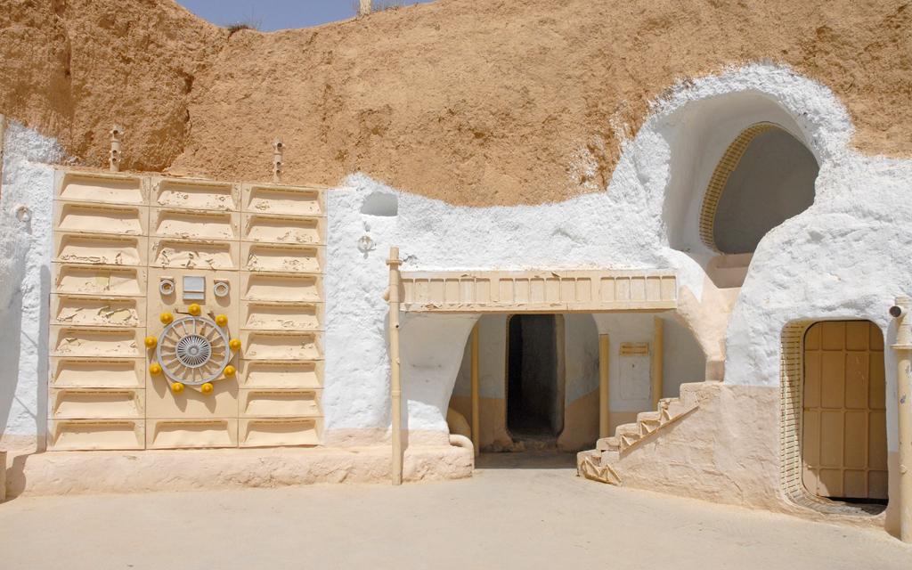 BiniBlog Unusual Hotels Weird Hotel Sidi Driss Matmata Tunisia
