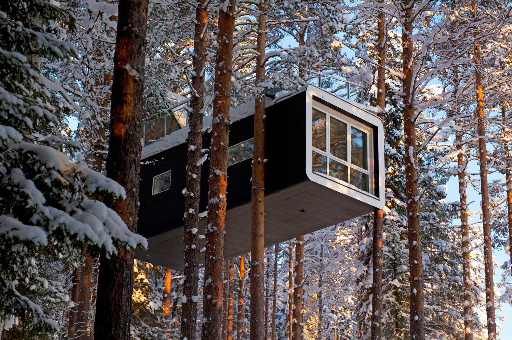 BiniBlog Weird Hotels Treehotel Harads Sweden