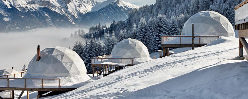Whitepod Hotel Valais Switzerland BiniBlog Unusual Hotels