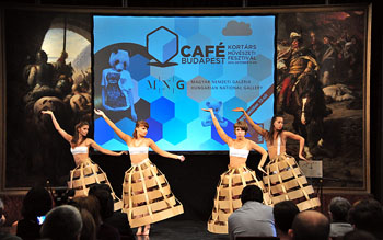 Budapest Art Fesival Cafe October Events Europe BiniBlog