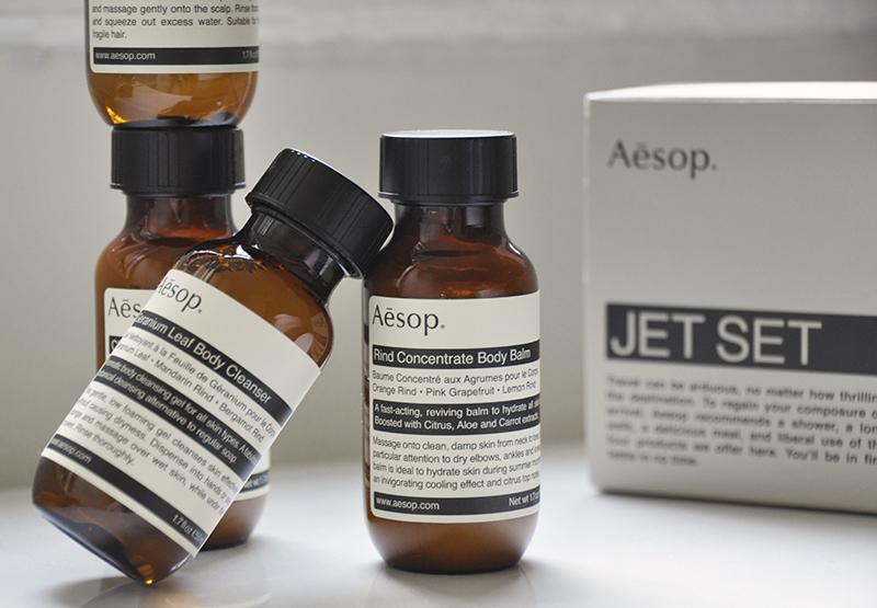 Aesop Jet Set Kit Travel Essentials In Flight LocalBini BiniBlog Travel Gift Guide Ultimate