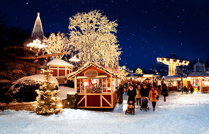 Liseberg Christmas Market at Gothenburg Sweden Chamonix December 2016 Holidays Destination Mont Blanc France Europe Athens Greece Christmas Market New Years Sweden Gothenburg BiniBlog LocalBini Travel Winter