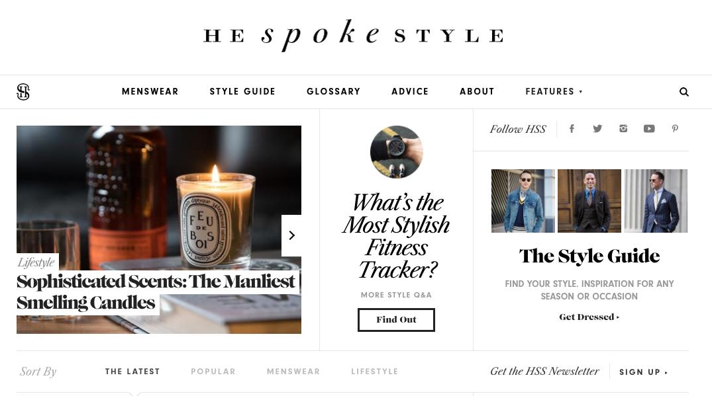 BiniBlog LocalBini Lifestyle Blog Tips He spoke style lifestyle blog Men fashion design glossary clothes male blog