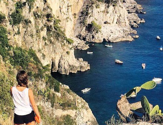 BiniBlog Capri Italy Tourist Traveller View Sea Looking Gazing Beautiful