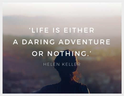 Helen Keller Life is Either a Daring Adventure or Nothing