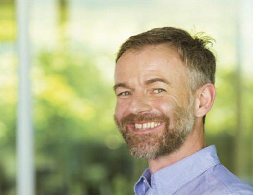 David Ziltener Interview Man Passion Smile Green Background