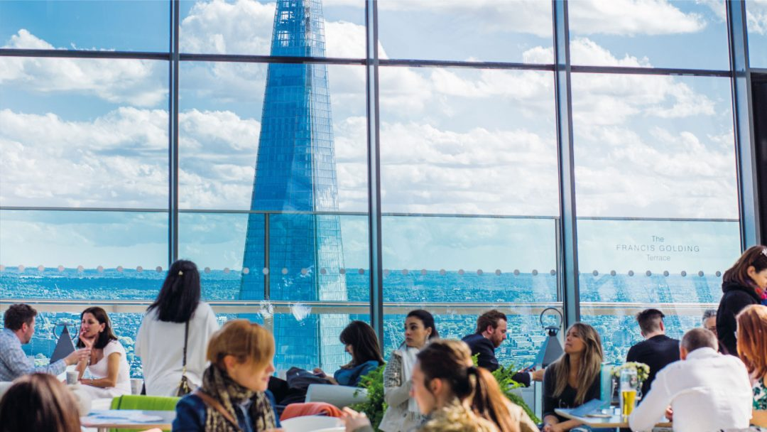 BiniBlog The Shard View London Dining Experience People Food