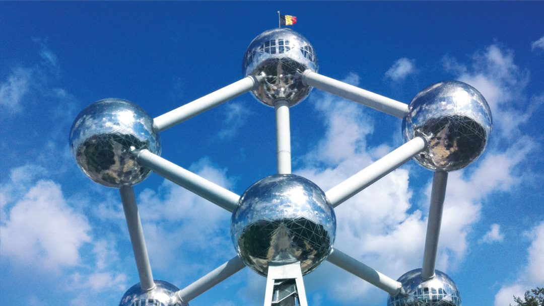 BiniBlog Brussels Belgium Atomium Best Food