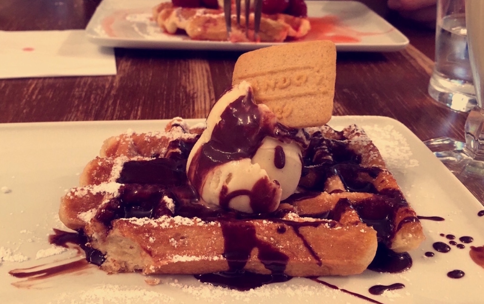 Brussels Best Waffle Sweet Dessert Chocolate Grande Place