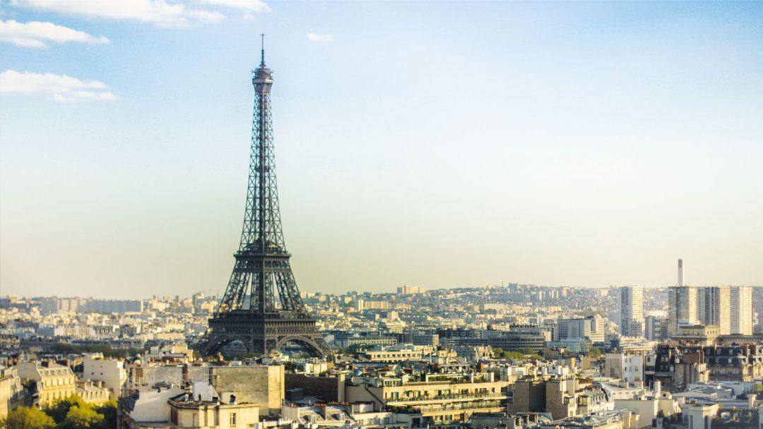 BiniBlog Greek Expat Paris View Landscape Eiffel Tower