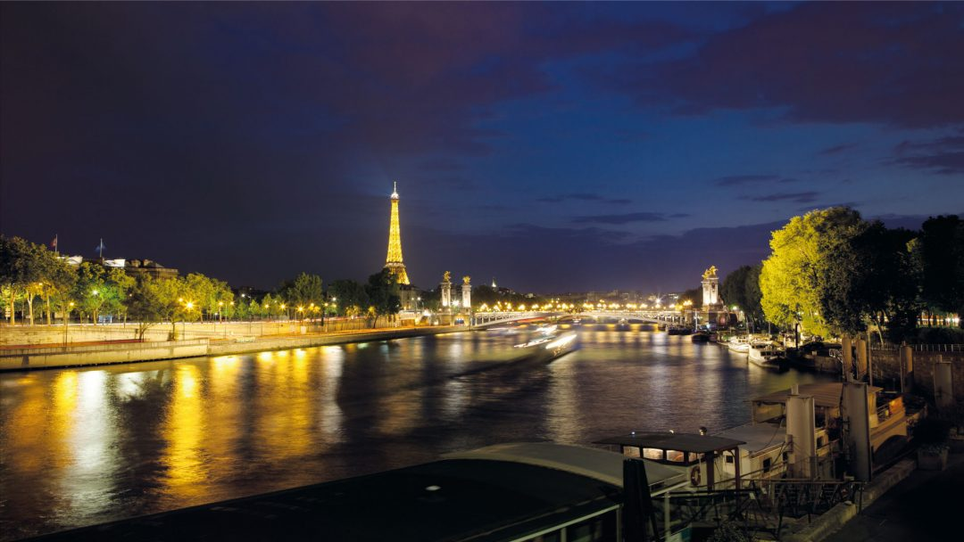 BiniBlog Greek Home Seine Paris Night Lights City