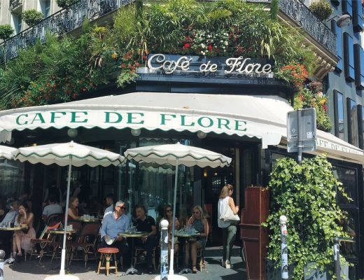 Cafe de Flore Paris BiniBlog