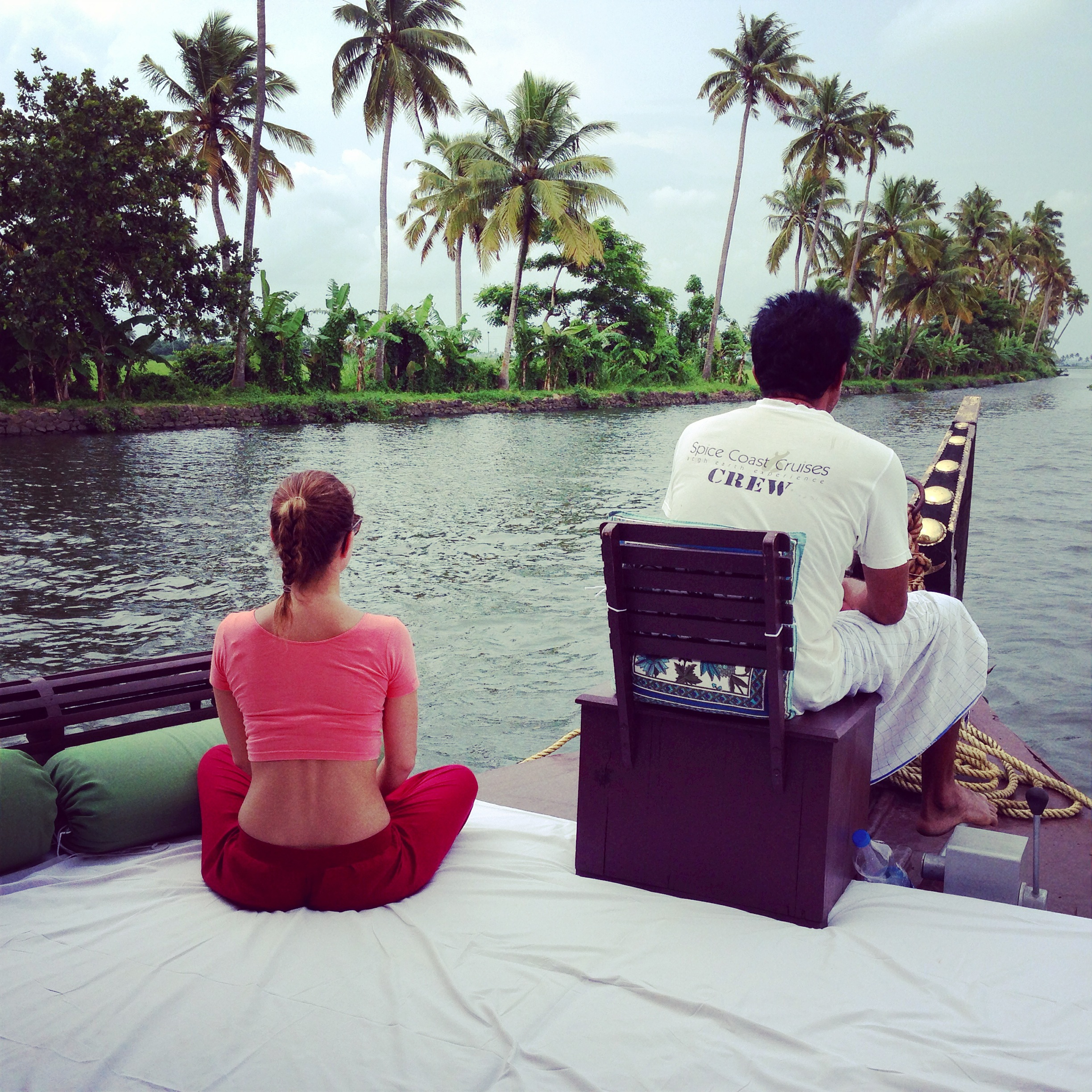 houseboat - alleppey - india - kerala - travel