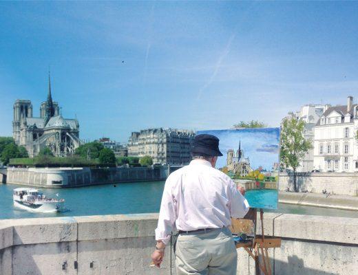 Experience LocalBini BiniBlog Notre Dame Painter Paris