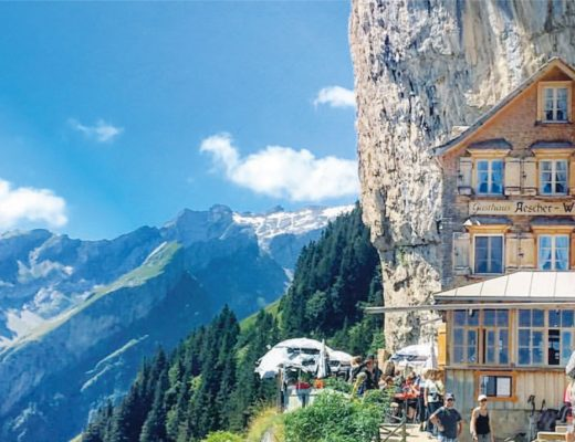 BiniBlog Weird Hotels Ascher Cliff Hotel Switzerland Appenzel