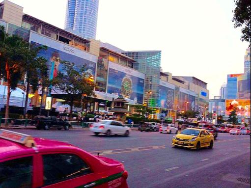 Taxi Cab Street Bangkok Thailand BiniBlog