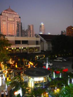Bangkok Thailand BiniBlog Blogger Travel Rainforest Restaurant Thailand Live Music