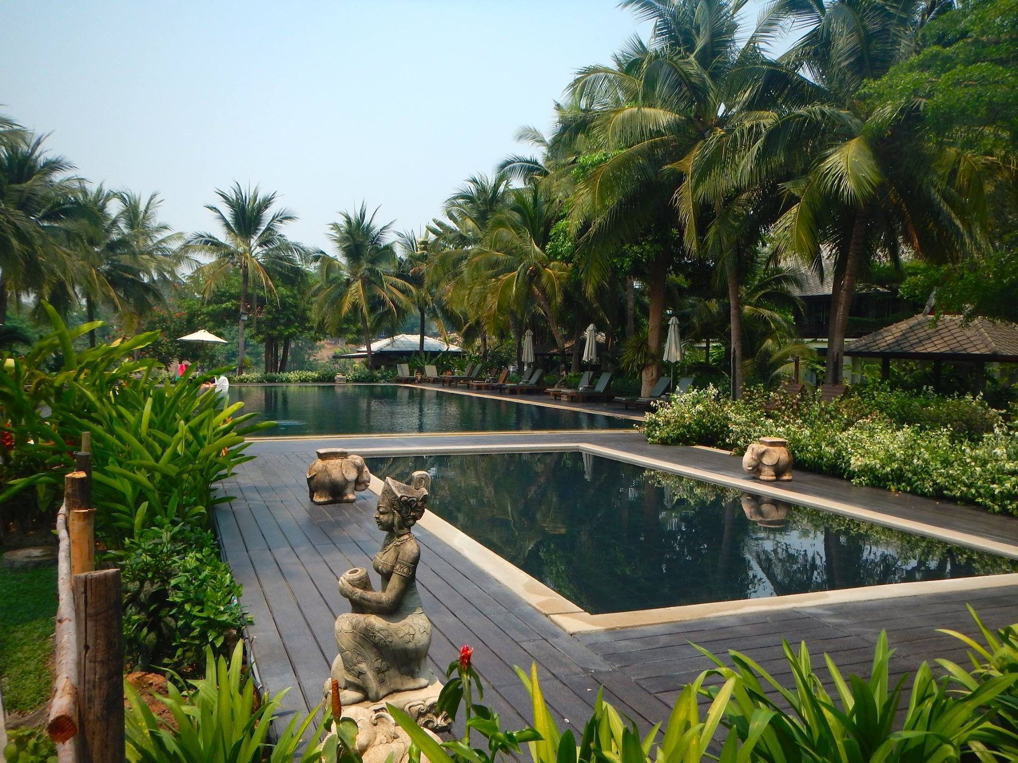 River Kwai Beach Resort Swimming Pool Thailand BiniBlog LocalBini Travel Journal Daphne Lambi Blogger