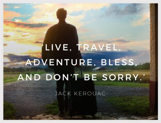 Adventure Bless Live Travel BiniBlog LocalBini Quote Inspirational Travel Inspiration