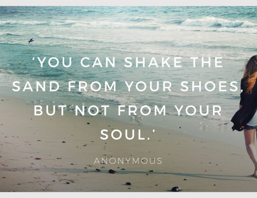 Sand Shoes Soul LocalBini BiniBlog Inspiration Inspirational Quotes