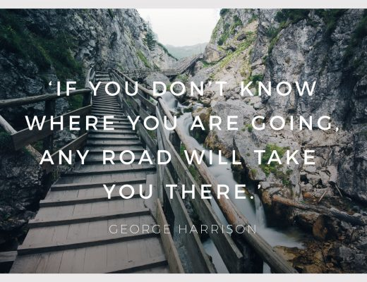 BiniBlog LocalBini Inspiration Inspirational Quote Weekly Travel Lifestyle Monday If you don't know where you are going any road will get you there by George Harrison