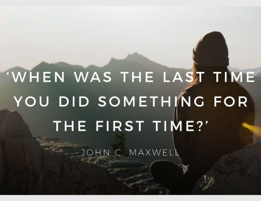 BiniBlog LocalBini Inspiration Inspirational Quote Weekly Travel Lifestyle Monday When was the last time you did something for the first time? John C. Maxwell