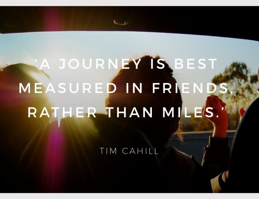 BiniBlog LocalBini Inspiration Inspirational Quote Weekly Travel Lifestyle Monday Tim Cahill Journey Friends Miles