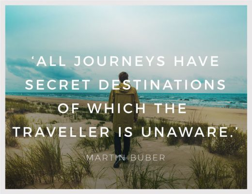 BiniBlog LocalBini Inspiration Inspirational Quote Weekly Travel Lifestyle Monday All journeys have secret destinations of which the traveller in unaware by Martin Buber