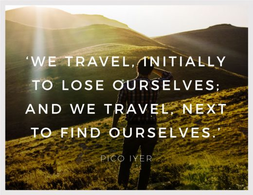 Inspirational Quote Travel Inspiration Quotes Pico Iyer LocalBini BiniBlog Inspirational Lose Lost