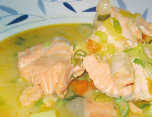 Salmon Stew Lemon Summer Winter Indonesia Asia Recipe Food BiniBlog LocalBini Lifestyle Travel