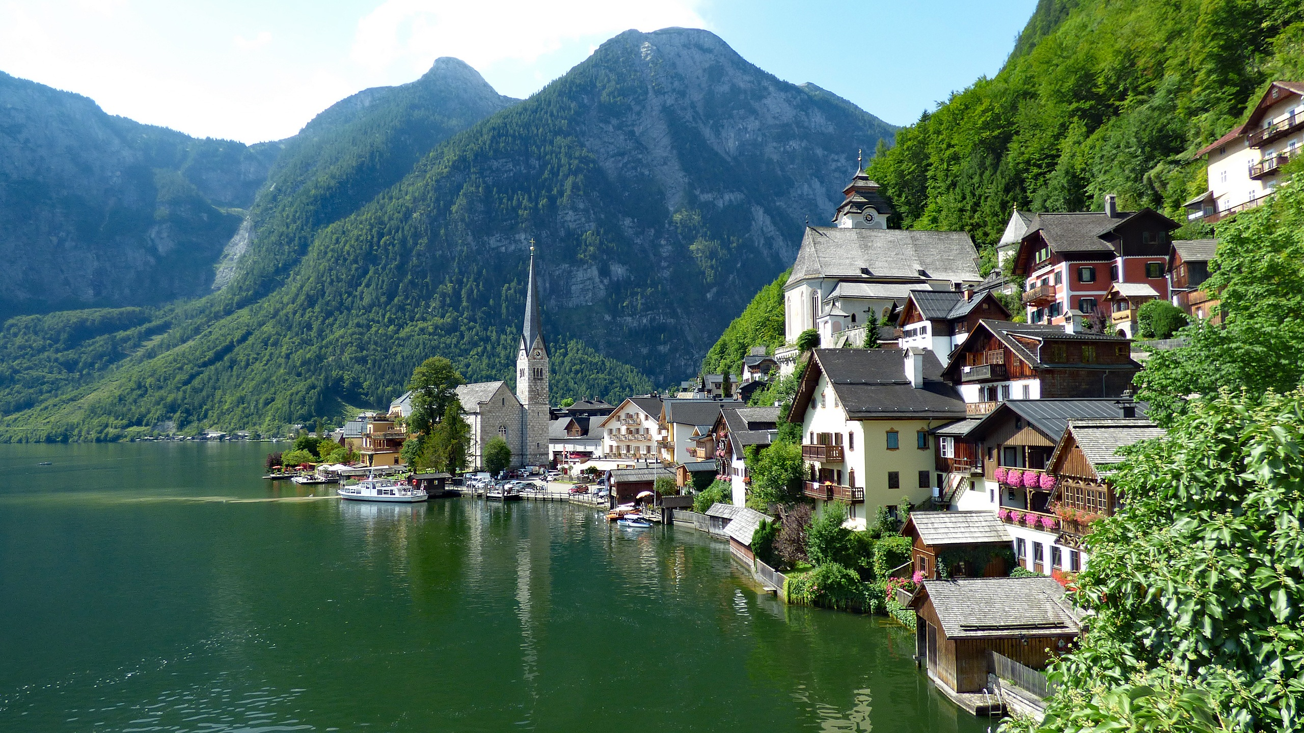 Hallstatt Austria Húsavík Lake Constance Switzerland Castle Combe village England travel picturesque cute Appenzel