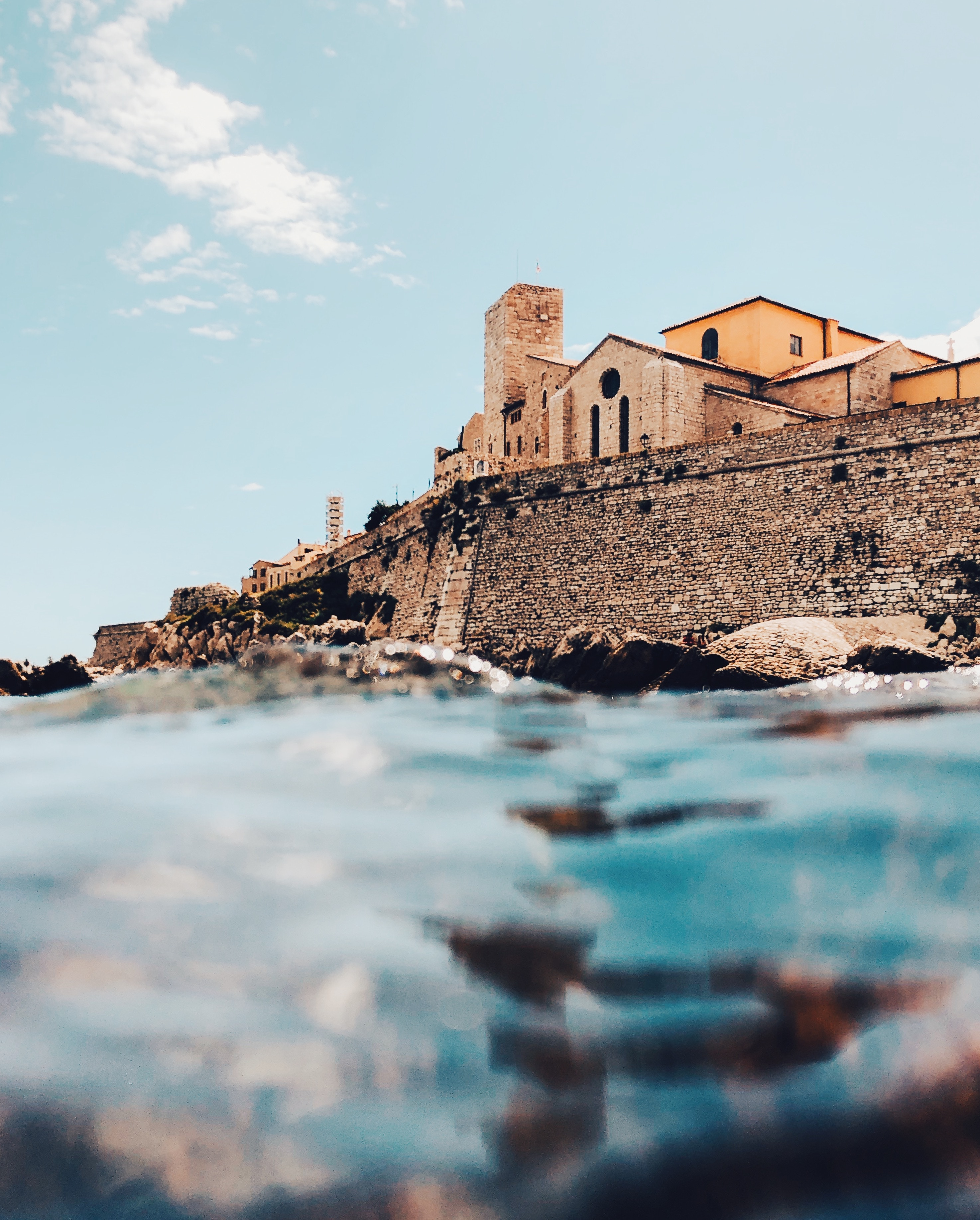 Antibes. France, Holiday, Beach, Destination, LocalBini, Europe, Water, Castle
