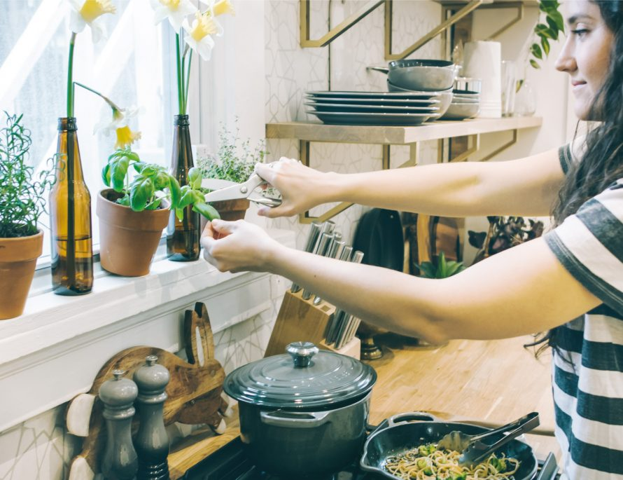 kitchen plants herbs seasoning inspiration menu friends isolation home quarantine recipes food cooking baking pantry items easy quick world cuisine prepping ingredients localbini expeirence travel local home