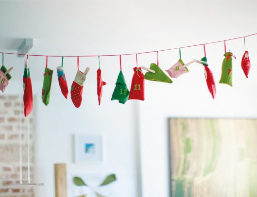 DIY Christmas Decorations Advent Calendar Festive Holiday Home Decoration Crafts