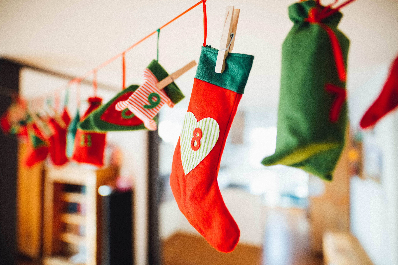 DIY Christmas Decorations Advent Calendar Festive Holiday Home Decoration Crafts