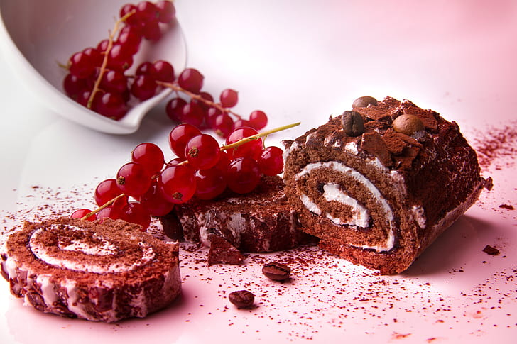 yule, log, cake, chocolate, roulade, swiss, roll, baking, christmas europe, buche de noel, dessert, cake