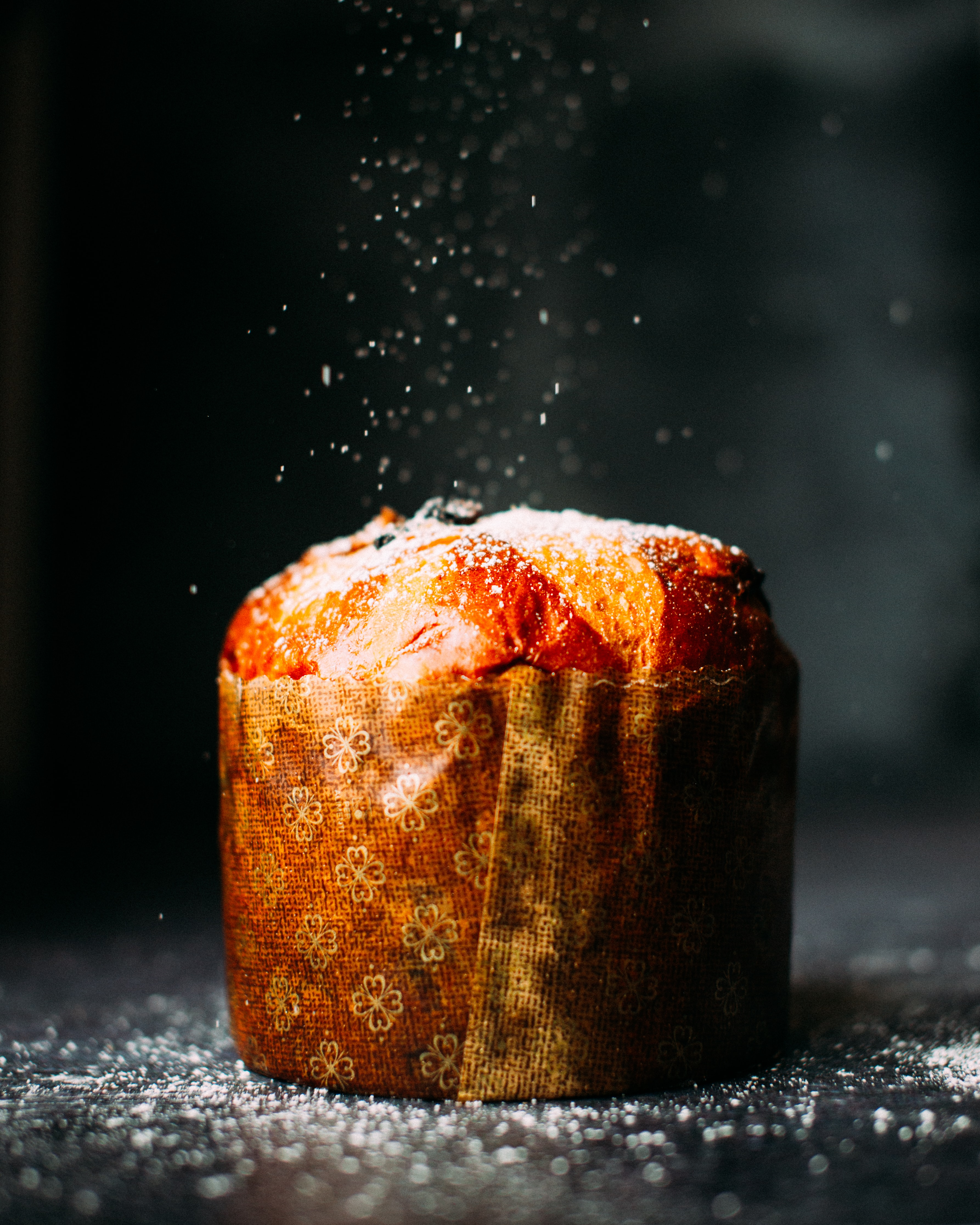 panettone, fluffy sweet bread Italy
