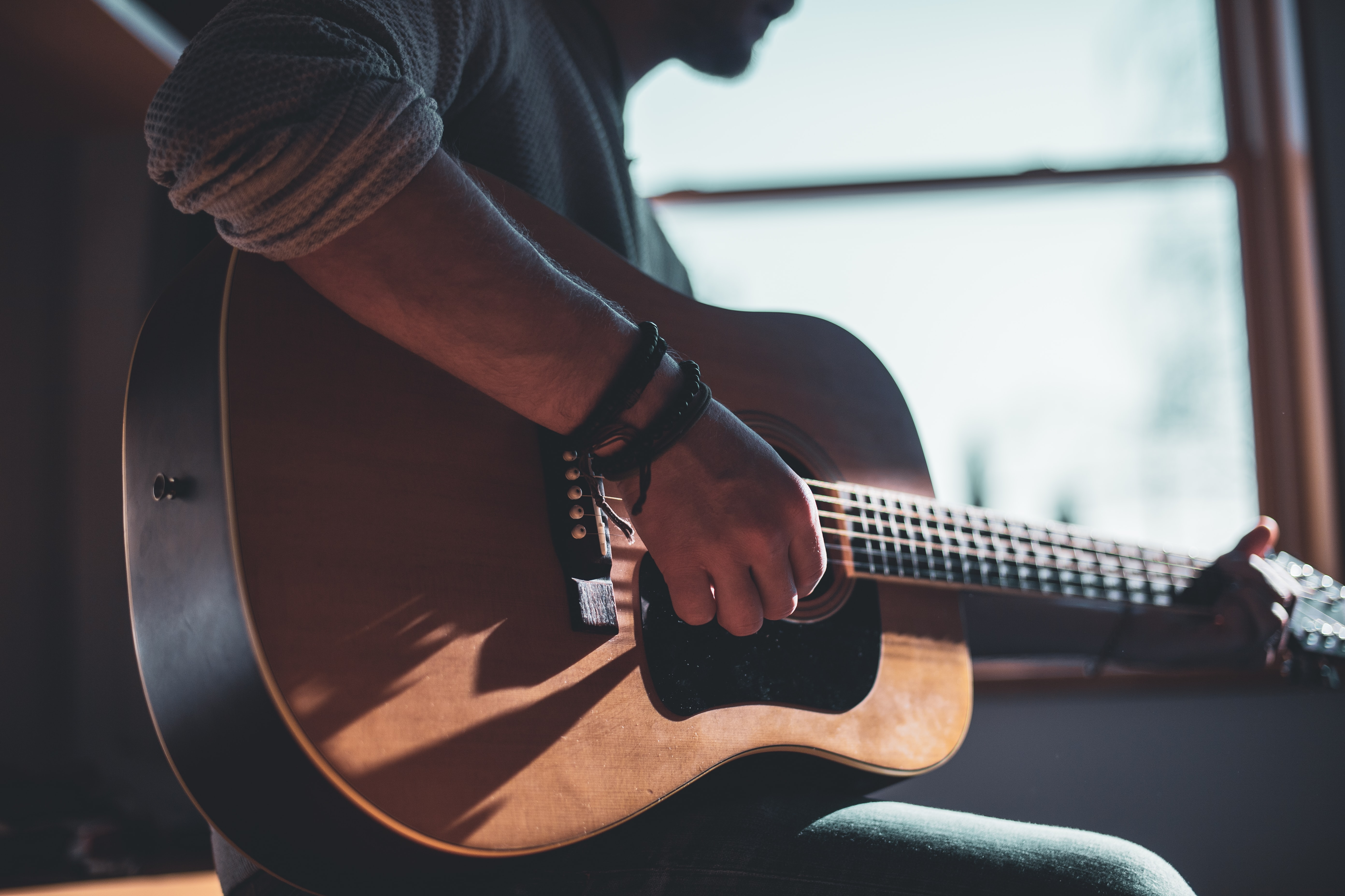 man guitar learn new skill music new year resolution singing biniblog localbini lifestyle tips