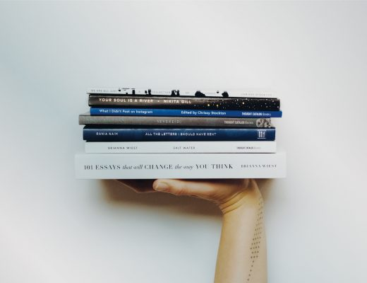 stack of books lockdown reading novels fiction cooking books recipes notes writers