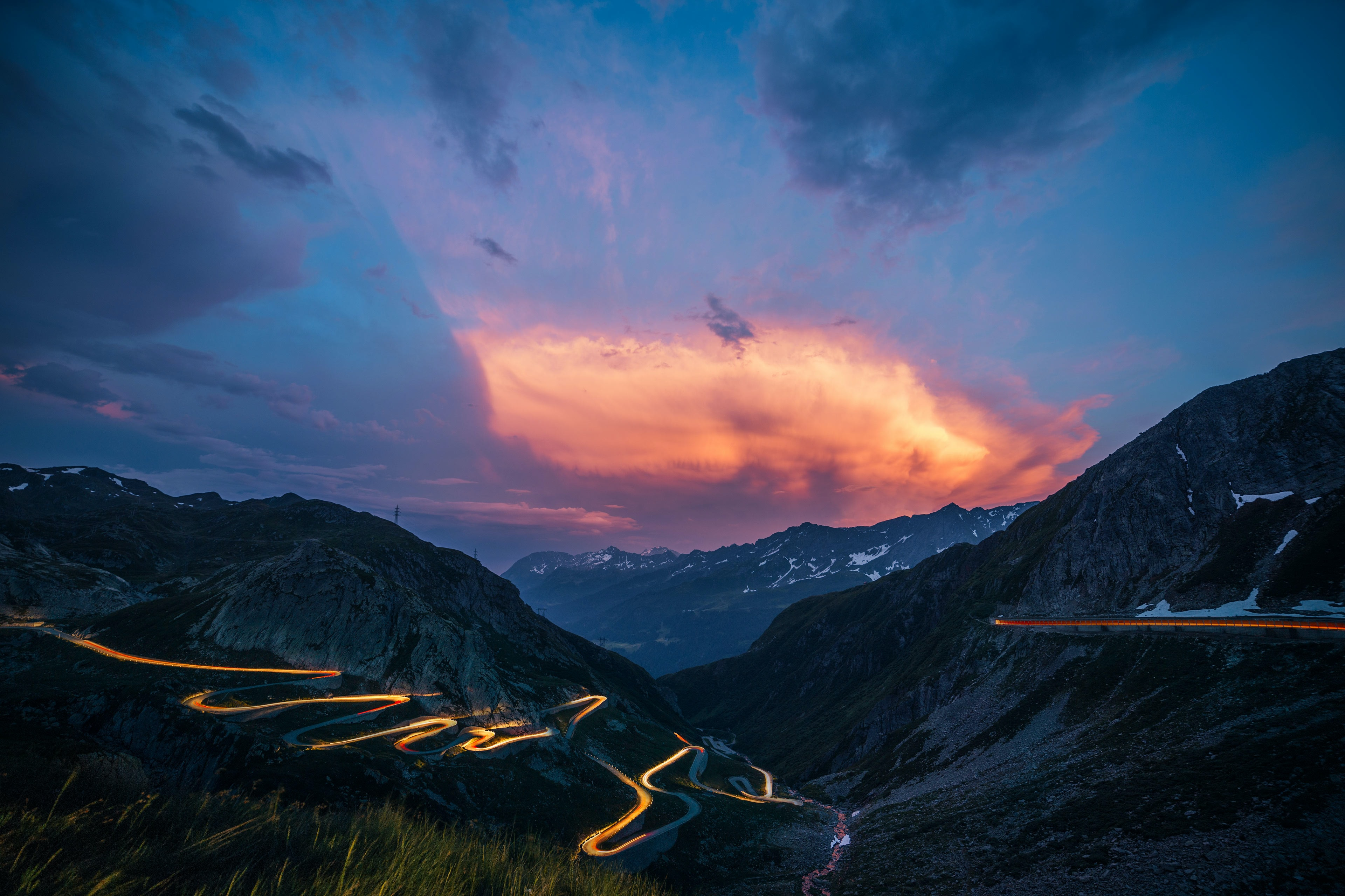 gotthard pass switzerland alps holiday scenic road trip Europe adventure travel localbini biniblog alps