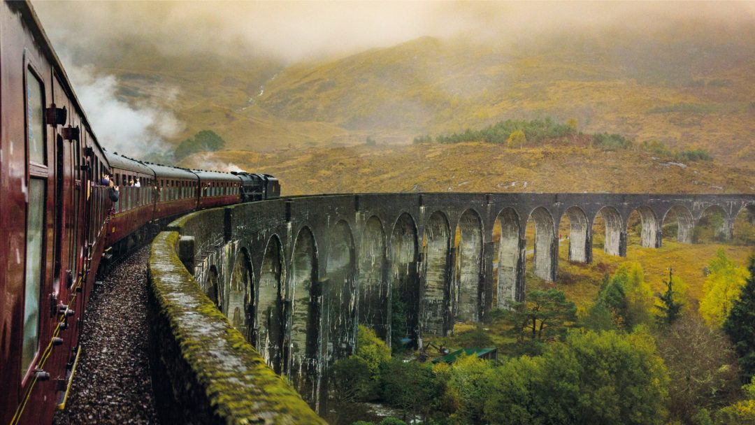 scenic train trips in Europe