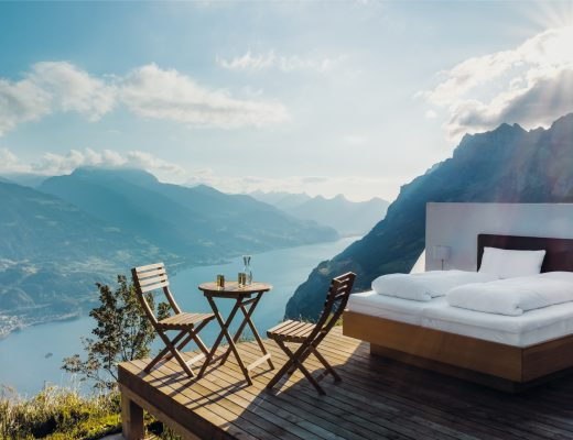 camping, travel, localbini, biniblog, authentic, experience, mattress bed view glamping switzerland scene picnic nature holiday alternative experience